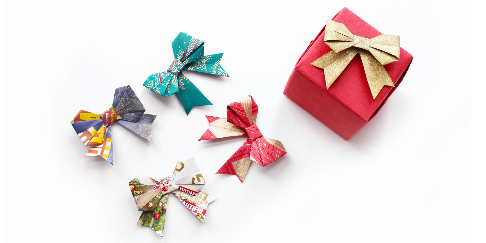 Good Origami Christmas Presents | ORIGAMI TUTORIAL, LETS MAKE IT !
