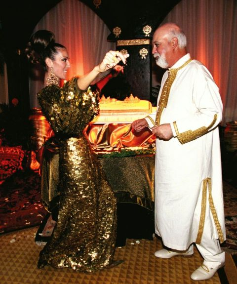 In 2000 Celine And Rene Renewed Their Wedding Vows A Traditional Melkite Byzantine Ceremony