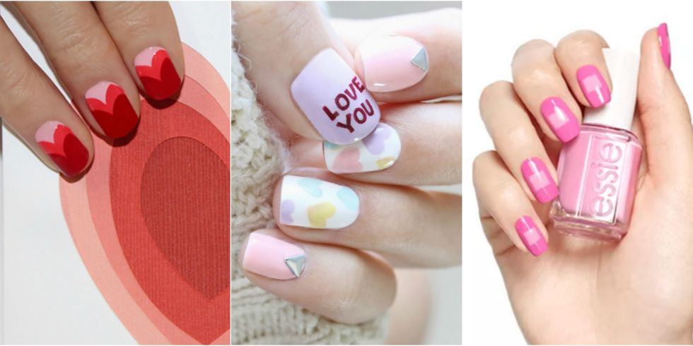 25 Photos - 25 Valentine's Day Nails - 25 Valentine's Day Nail Art Ideas