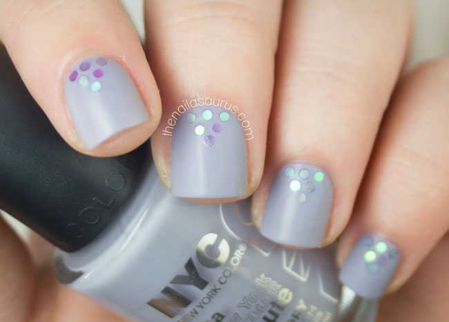 24 glitter nail art ideas tutorials for glitter nail designs perfect placement prinsesfo Images