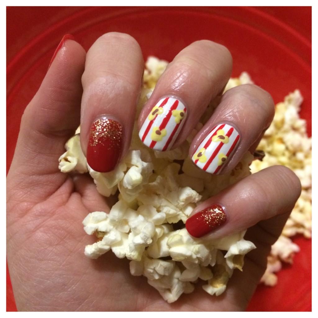 24 glitter nail art ideas tutorials for glitter nail designs prinsesfo Image collections