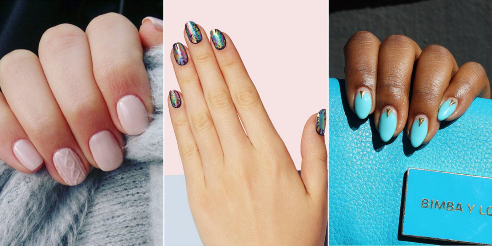 Nail shapes trends ~ Beautify themselves with sweet nails