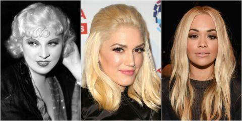 why dark eyebrows and blonde hair look amazing � dark