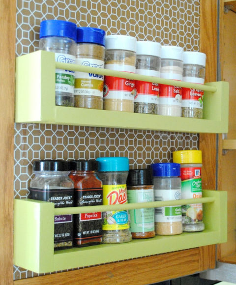 How to Organize Spices - DIY Spice Rack Ideas