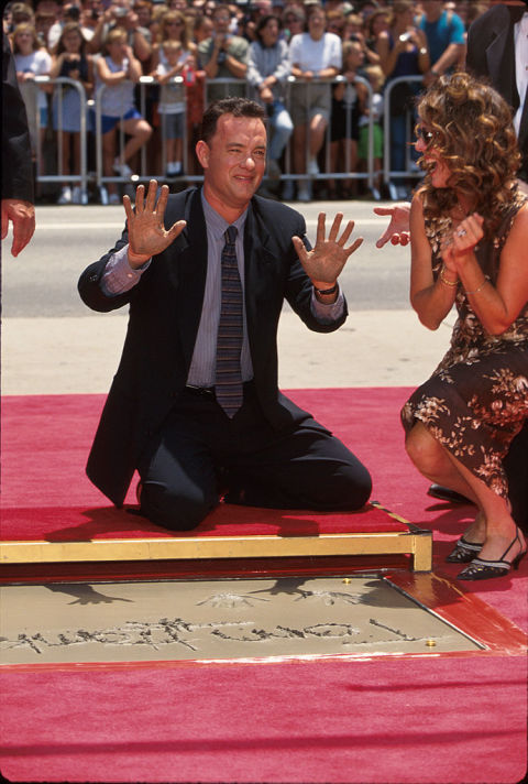 tom hanks and rita willsons marriage in pictures tom