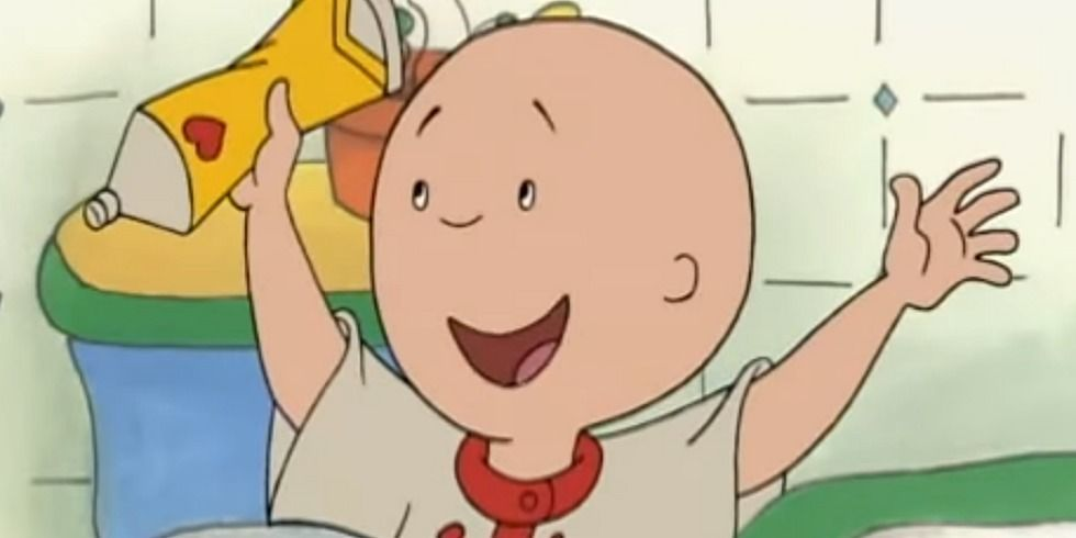 foto de Why Parents Hate Caillou Funny Tweets About Caillou