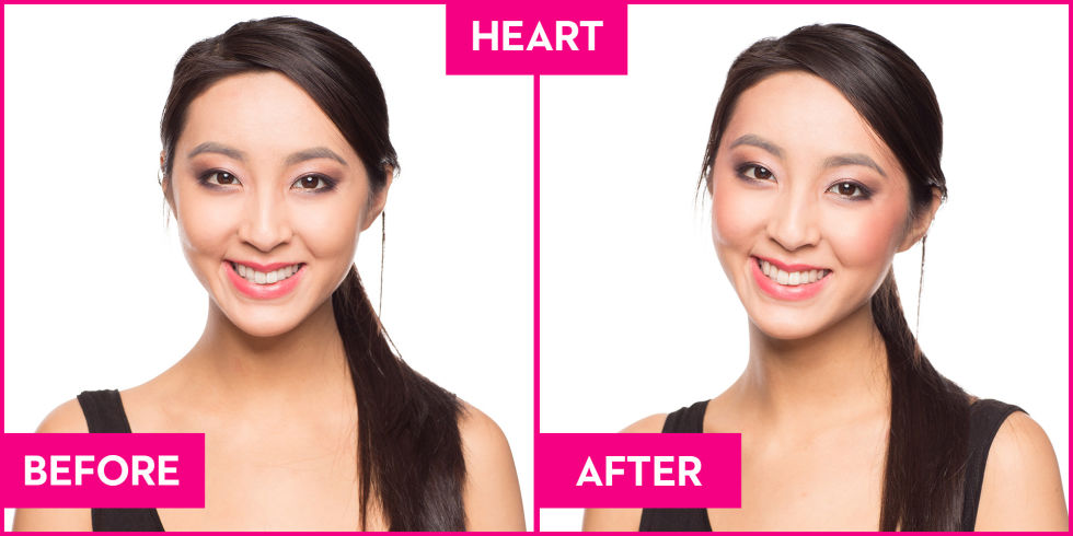 The best blush for your face shape blush according to face shape heart ccuart Choice Image