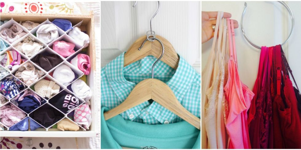 Clothes Closet Organization Ideas Part - 41: 10 Organization Tricks For People With Too Many Clothes