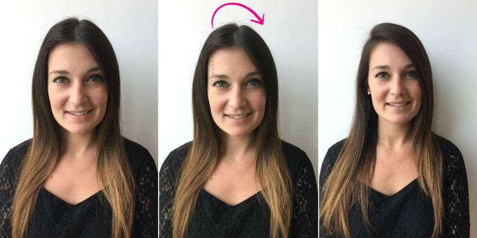 Image result for change part hair