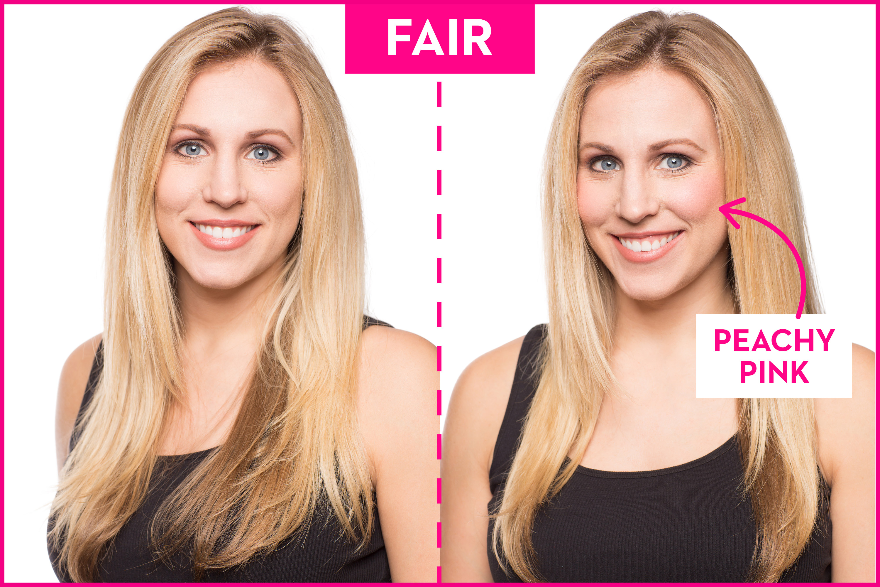 The Best Blush Colors For Your Skin Tone How To Pick A