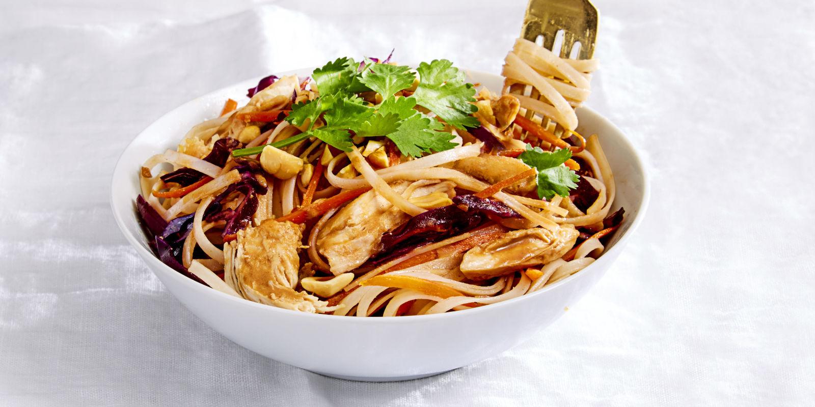 Nutty Chicken Noodles