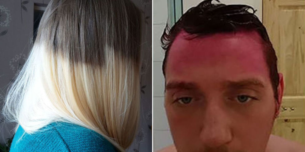 Hilarious Hair Dye Fails — Funny Botched Hair Dye Jobs
