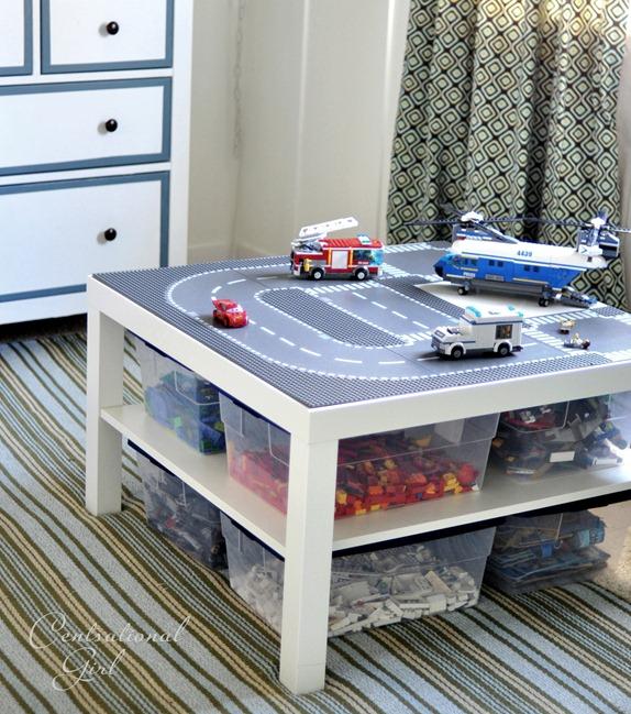IKEA Hacks for Organizing a Kids Room Toy Storage Organization