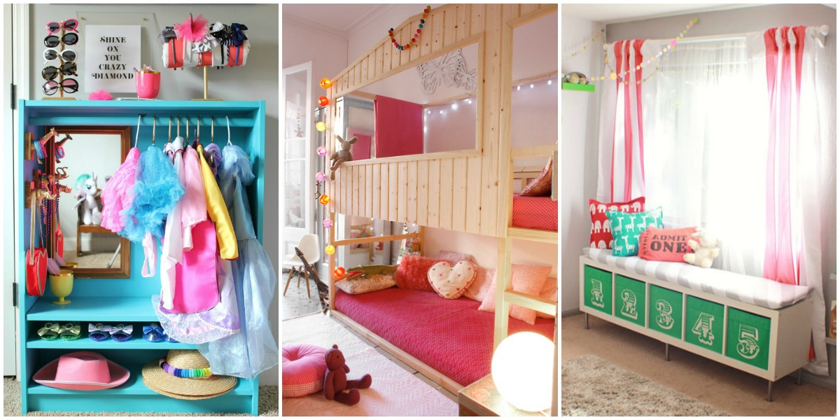 Princess Toys Box Storage Kids Girls Chest Bedroom Clothes: IKEA Hacks For Organizing A Kid's Room