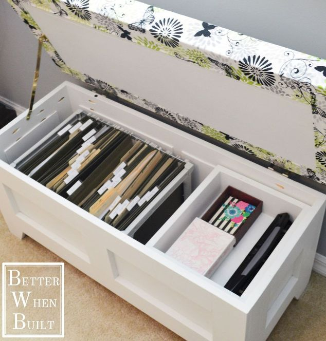 New Uses for Benches - Genius Storage Benches