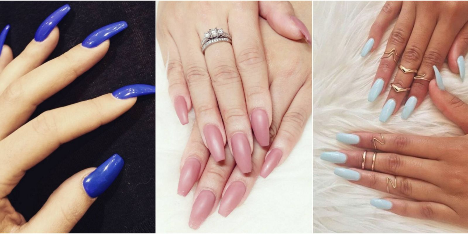 13 ways to wear coffin nails designs for ballerina nails