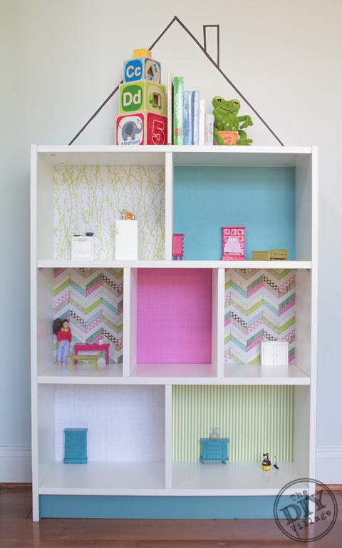 Give Your Kiddo A Diy Dollhouse