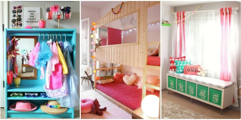 IKEA Hacks for Organizing a Kid's Room - Toy Storage Organization ...