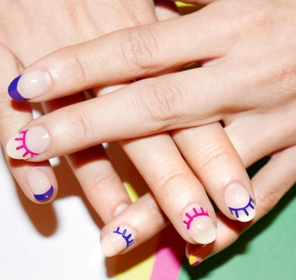 Идея маникюра на свои ногти