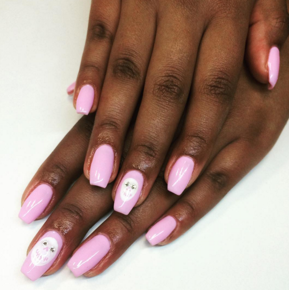 13 ways to wear coffin shaped nails design ideas for ballerina nails prinsesfo Gallery