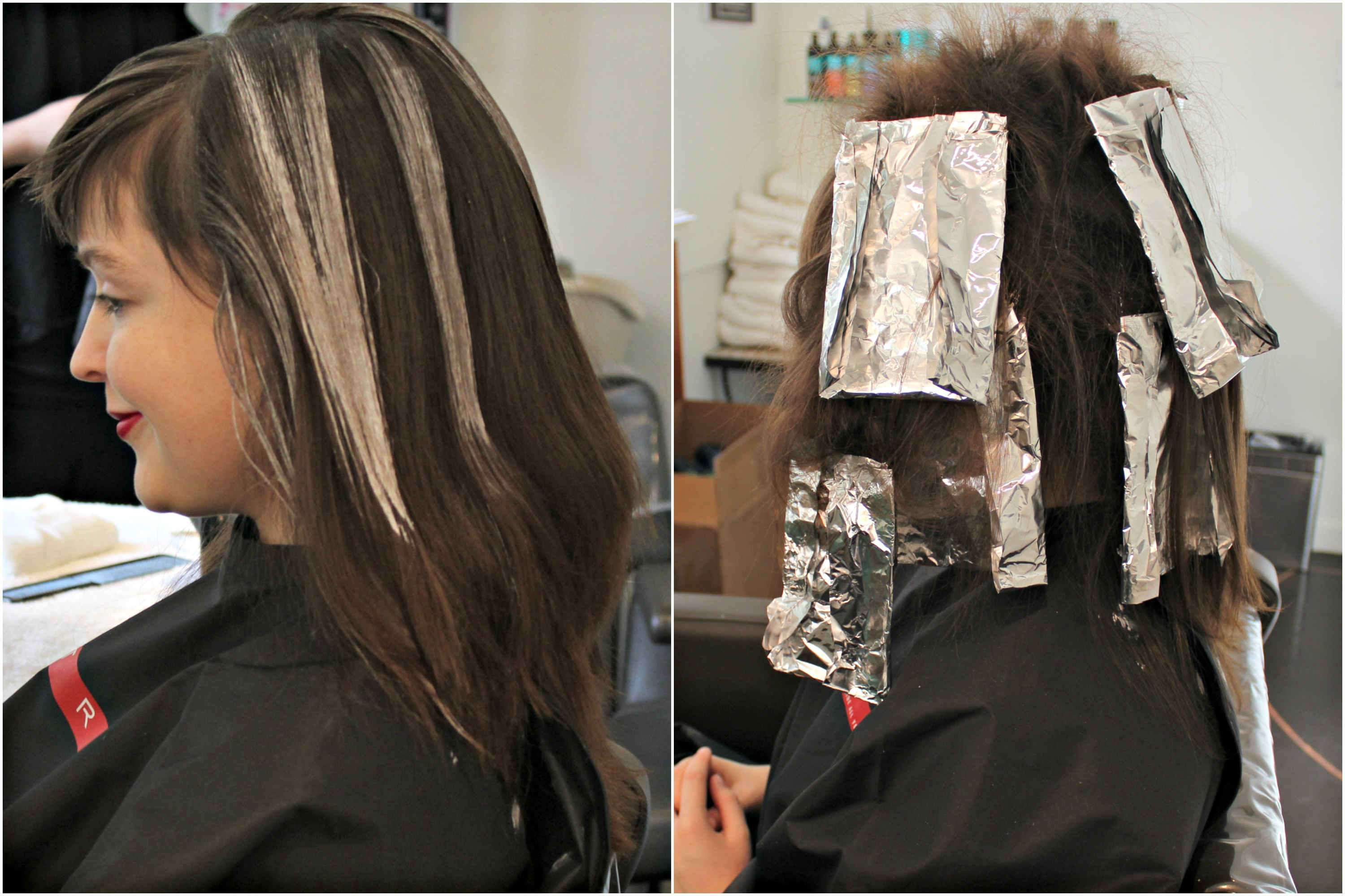 how to make hair look thicker with highlights