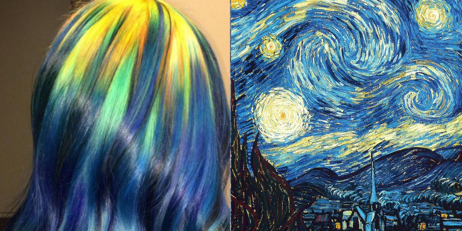 Art color hair - Hair Colors Inspired By Famous Paintings Ursula Goff Instagram Hairstyles