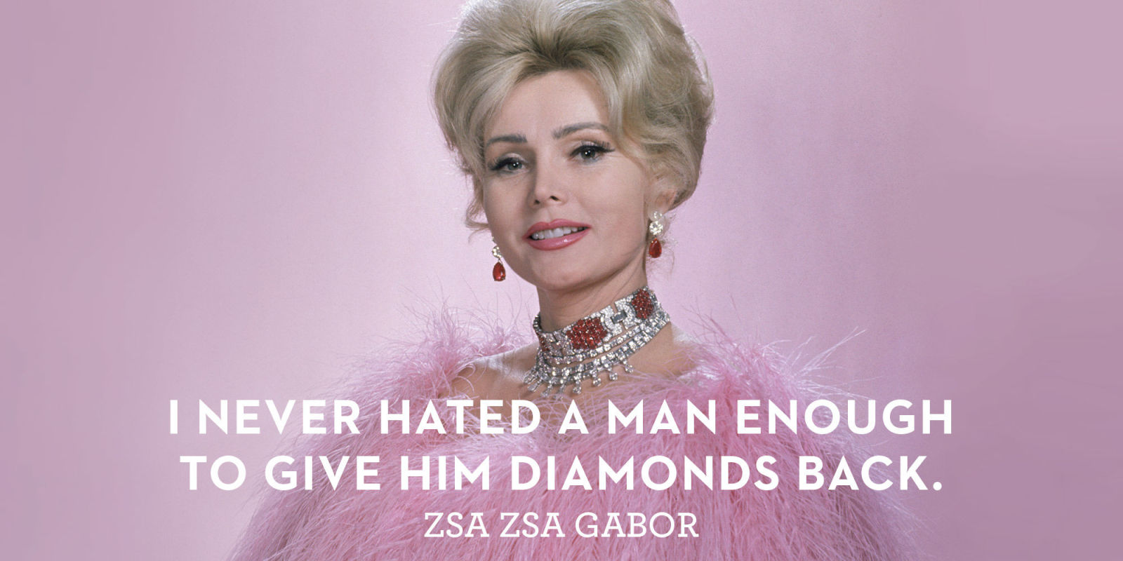 Zsa Zsa Gabor Quotes Zsa Zsa Gabor Through The Years  Zsa Zsa Gabor Quotes