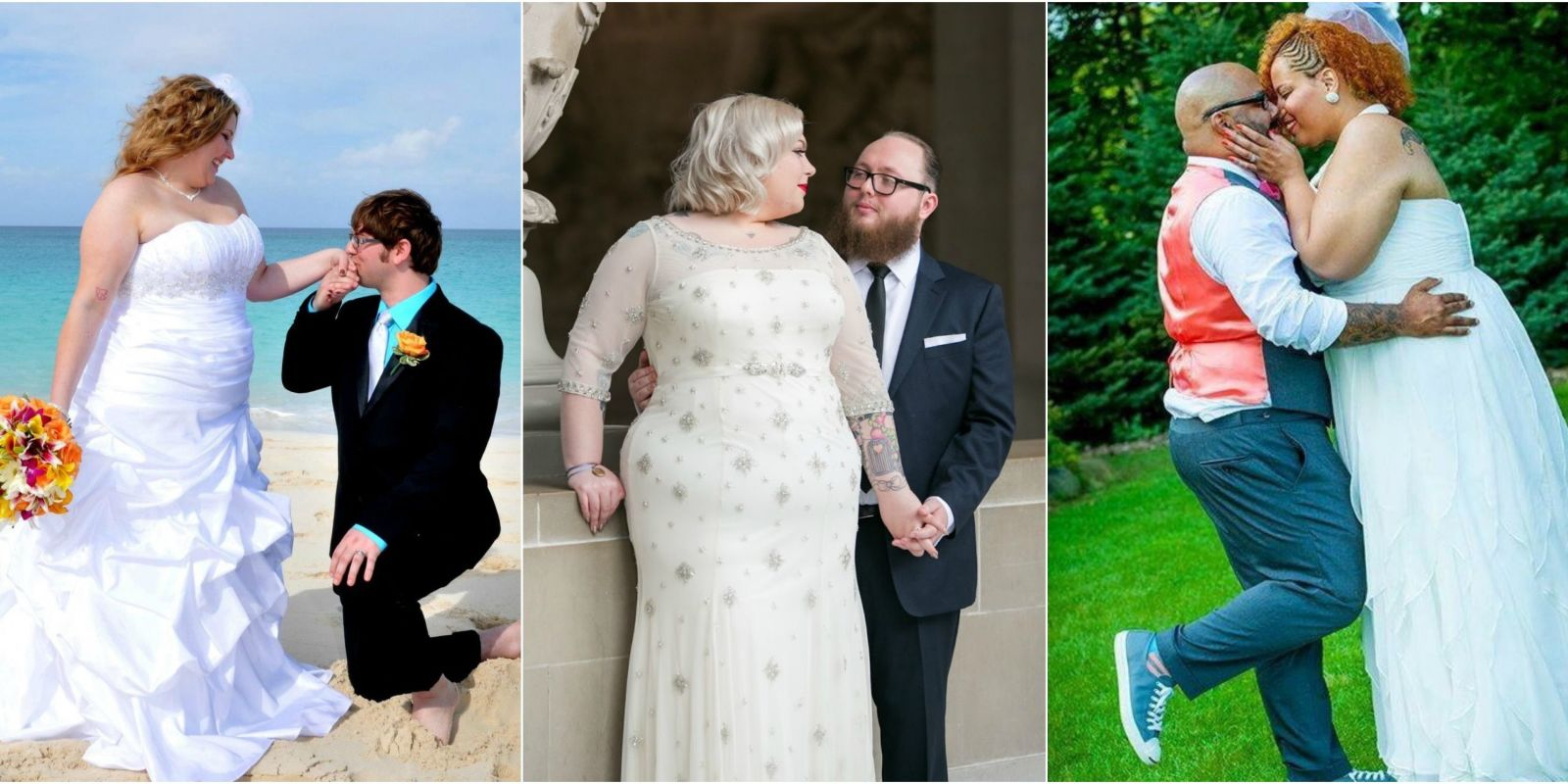 Wedding Gown Designs For Chubby: Blogger Makes Gallery Of Plus-Size Brides In Wedding