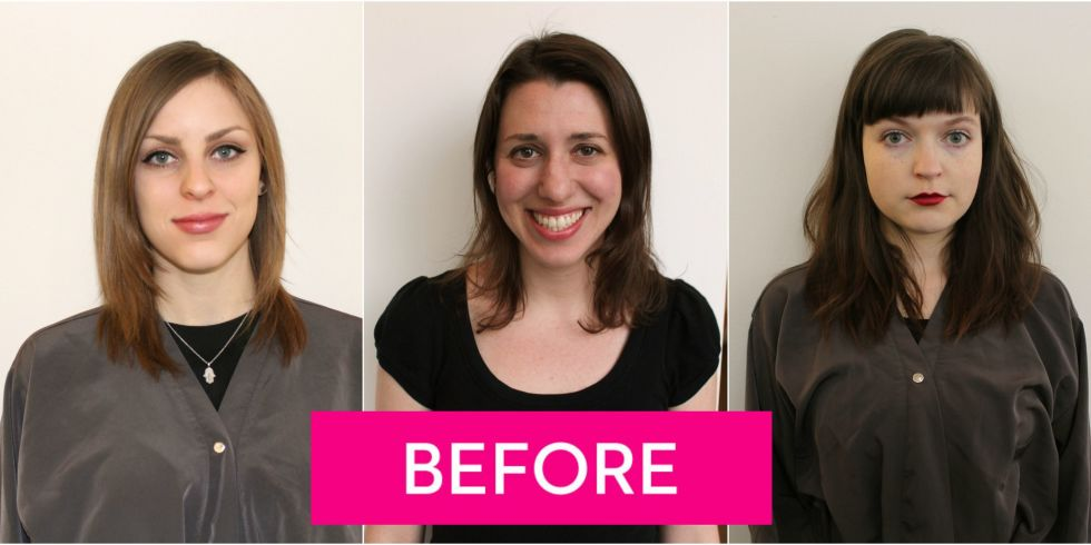 Hair contouring makeovers before and after highlights make hair 3 women tried hair contouring and scored some amazing new looks pmusecretfo Image collections
