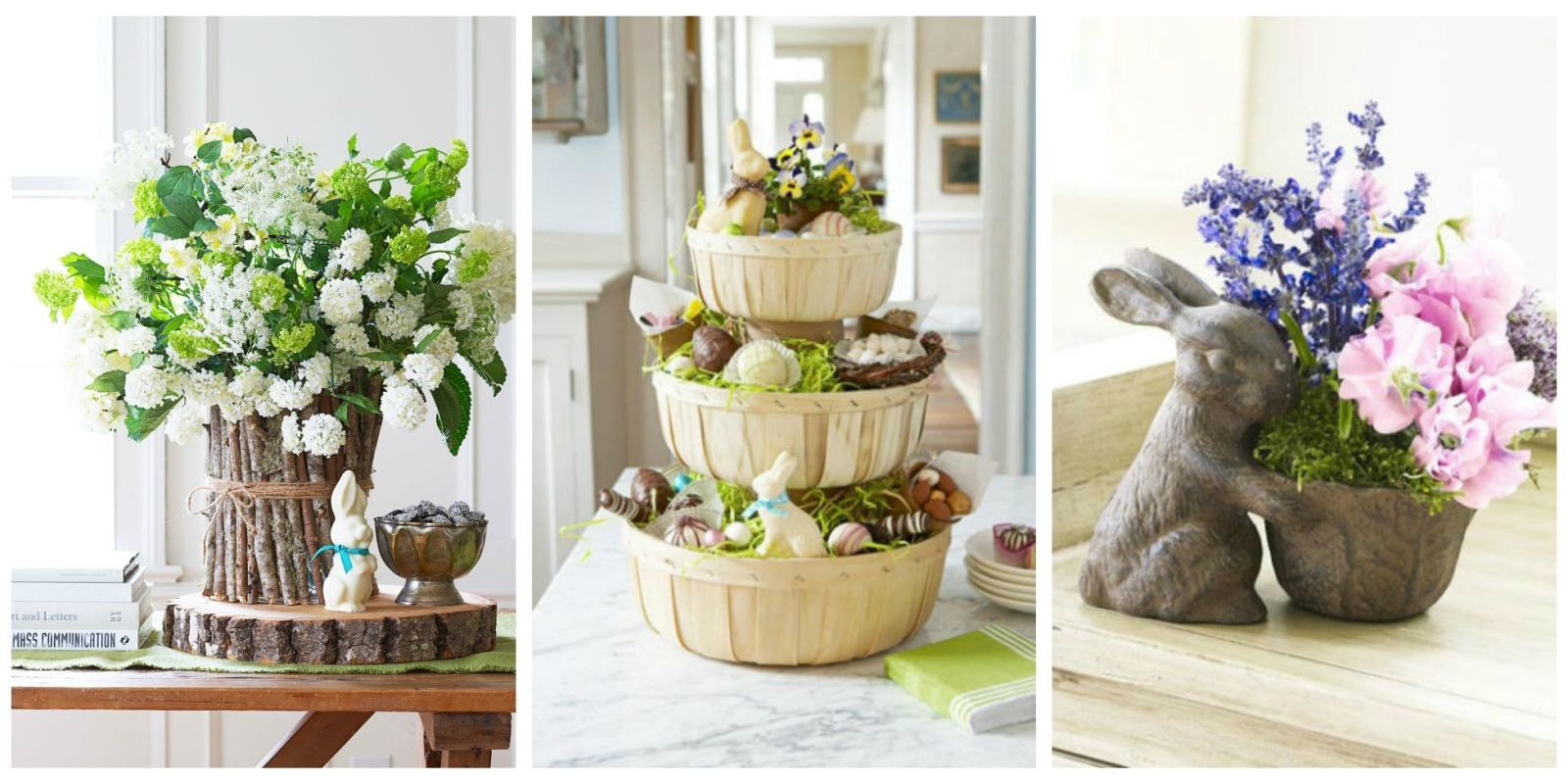 70 diy easter decorations ideas for homemade easter for Home easter decorations