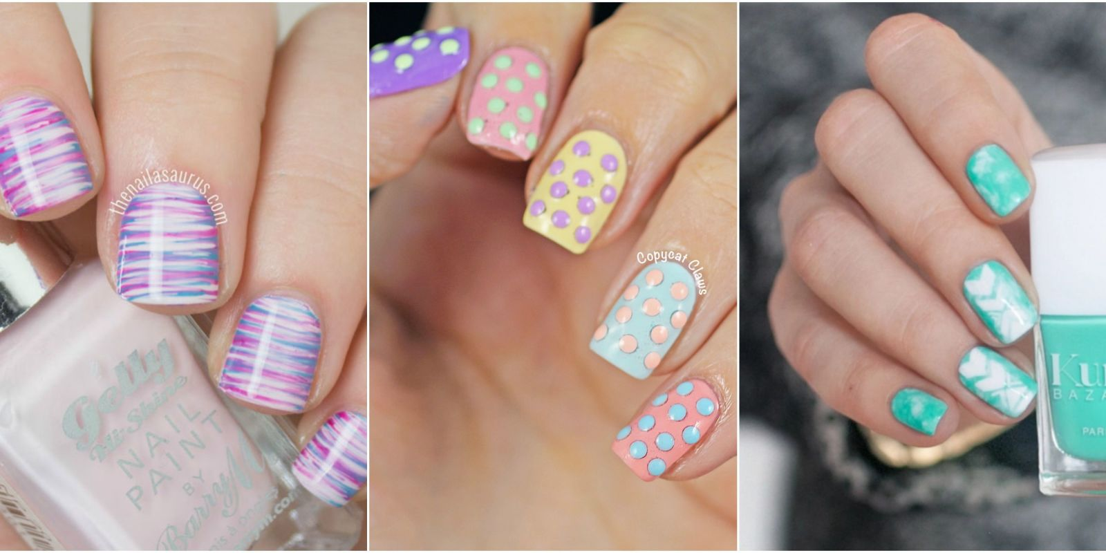 easy at home nail designs for short nails.  21 Cute Easter Nail Designs Easy Art Ideas