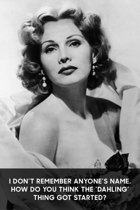 Zsa Zsa Gabor Quotes Prepossessing Zsa Zsa Gabor Through The Years  Zsa Zsa Gabor Quotes
