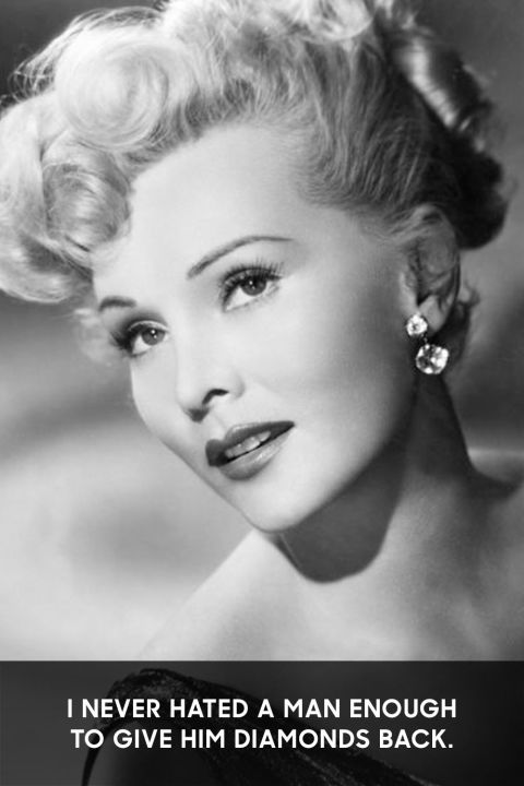 Zsa Zsa Gabor Quotes Captivating Zsa Zsa Gabor Through The Years  Zsa Zsa Gabor Quotes