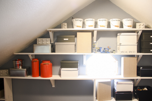 Ideas For Attic unfinished attic storage solutions - how to upgrade your attic