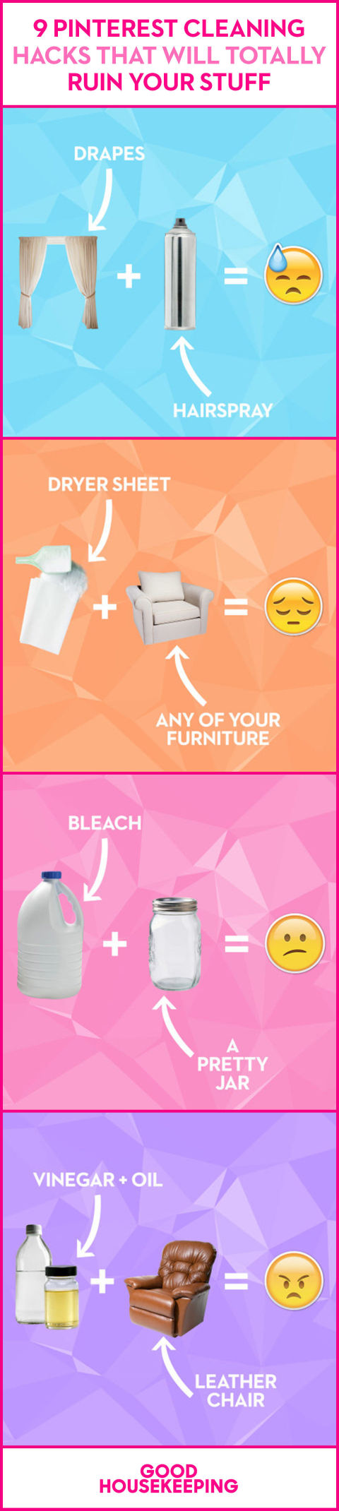 cleaning tricks that ruin your stuff bad cleaning advice 9 cleaning hacks that will totally ruin your stuff