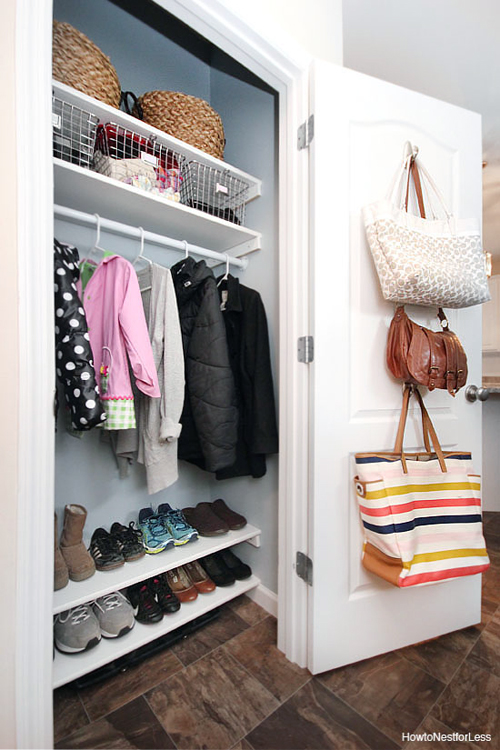 easy closet organization ideas