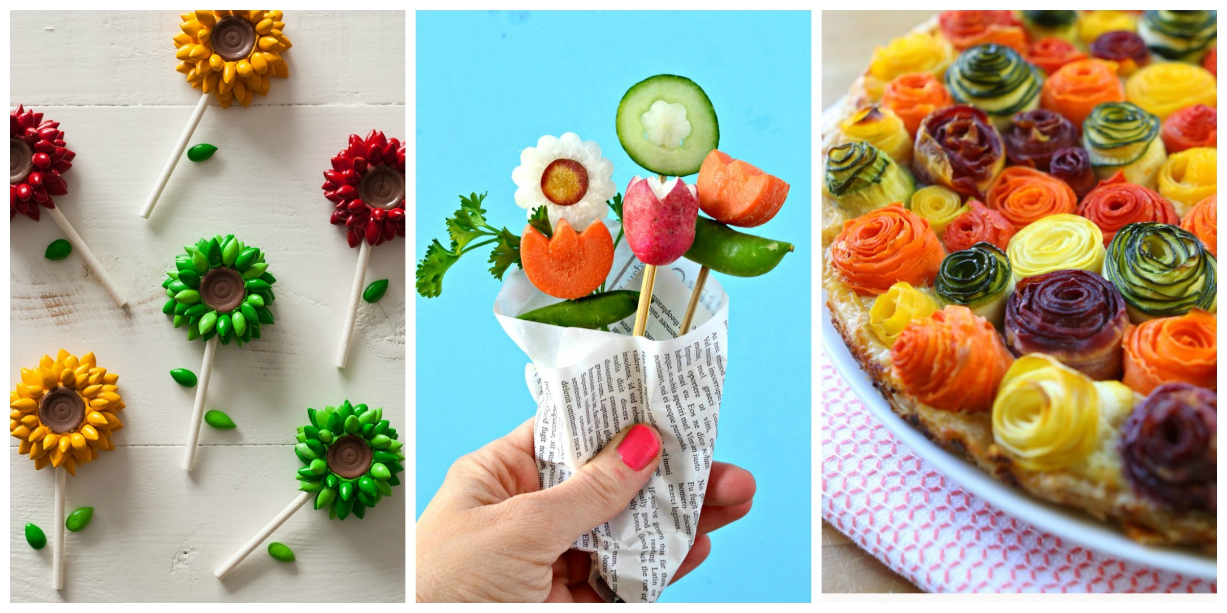 20 Ways To Make Your Food Look Like Flowers Flower