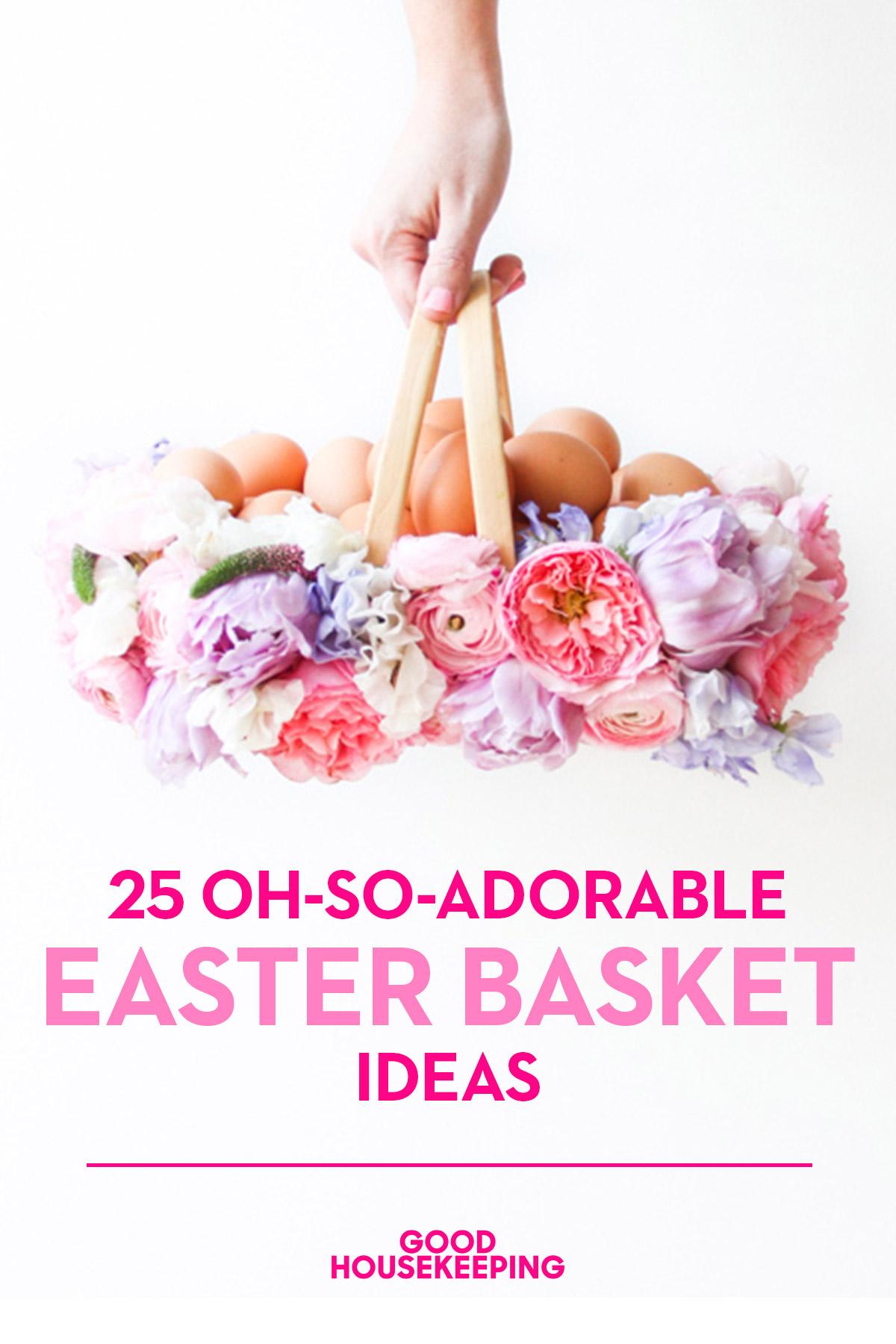 35 diy easter basket ideas unique homemade easter baskets good