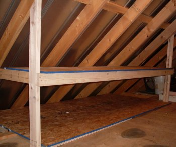 Unfinished Attic Storage Ideas How To Add An