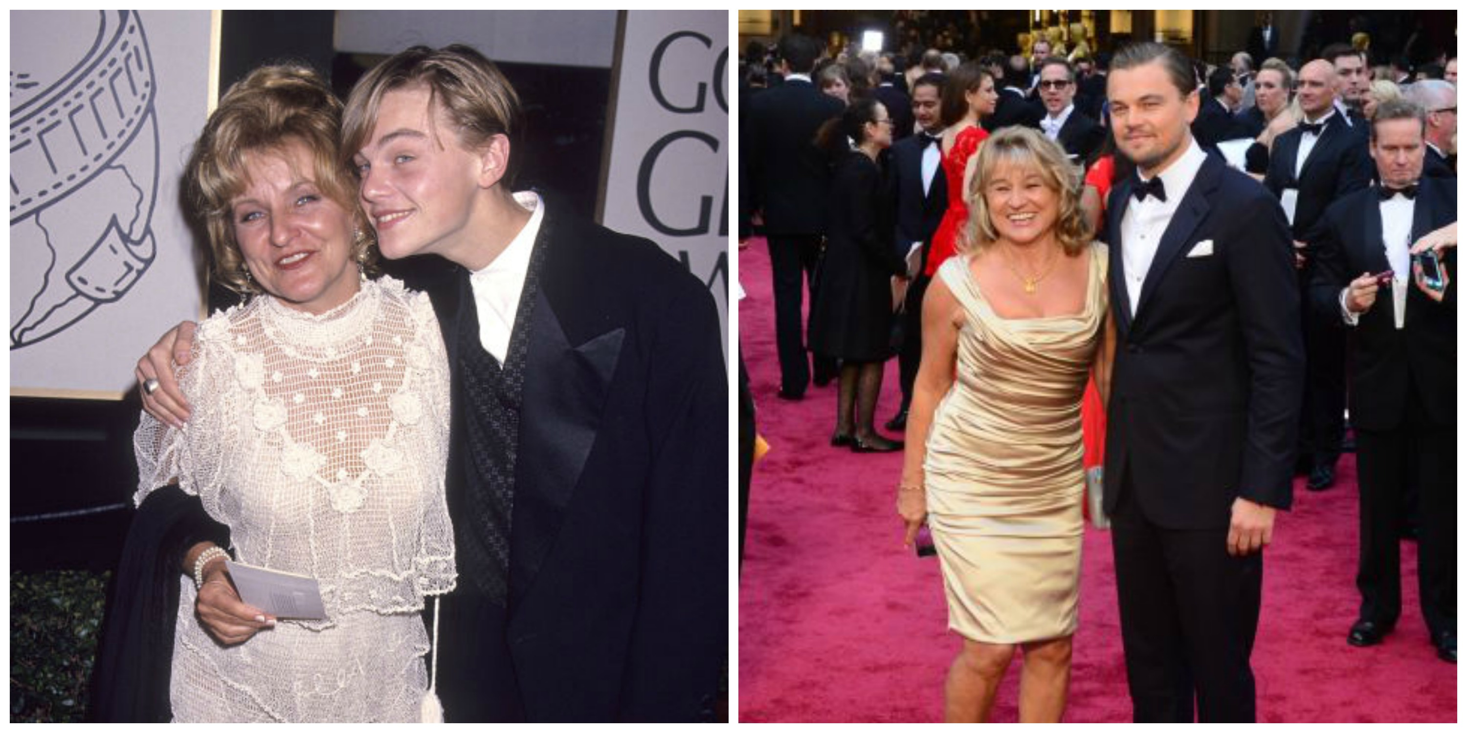 The History Of Leonardo DiCaprio Being Adorable With His Mom