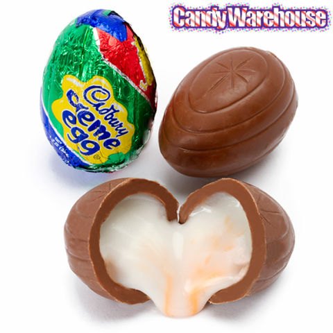 Cadbury Creme Eggs have become such an Easter staple that the holiday seems incomplete without them. Filled with a creamy center, these milk chocolate treats come individually wrapped—but you can never have just one.