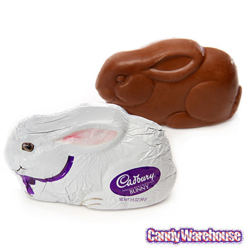 We would have put these higher on our list, but an entire solid chocolate bunny is almost too much chocolate to enjoy all at once. Even so, these treats are still Easter basket essentials. (Many chocolate bunnies also come in hollow versions, too. So if you want to quell your chocolate craving in semi-moderation, the hollow bunnies are your best bet.)