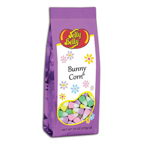 The candy corn you known and love from Halloween returns for the Easter season! Changing from orange, yellow and white to seasonal pastel colors, Bunny Corn treats are great for gift bags, crafts and desserts.