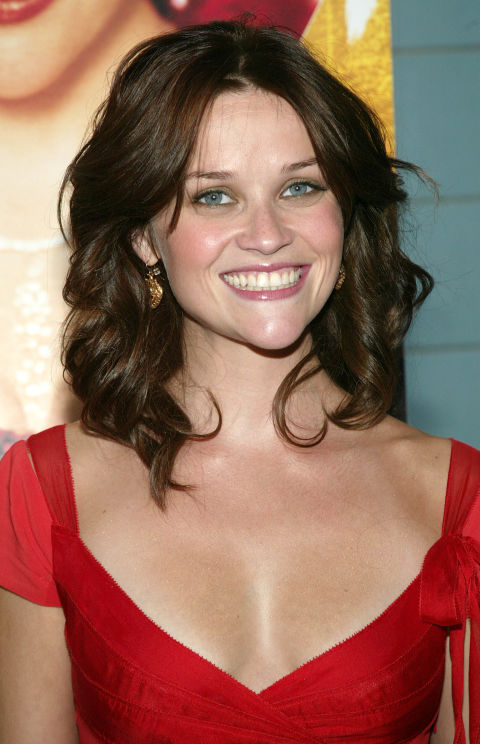 13 Famous Blondes Without Their Blonde Hair — Famous ... Reese Witherspoon Brown Hair
