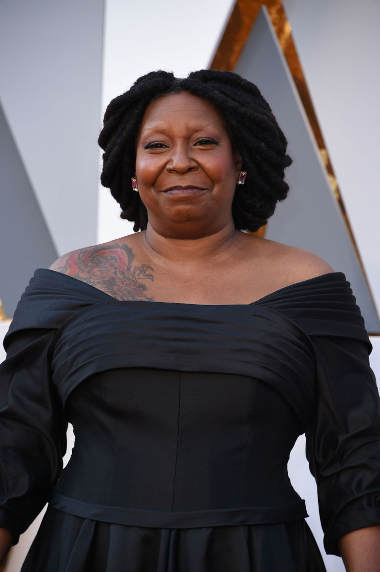whoopi goldberg brows