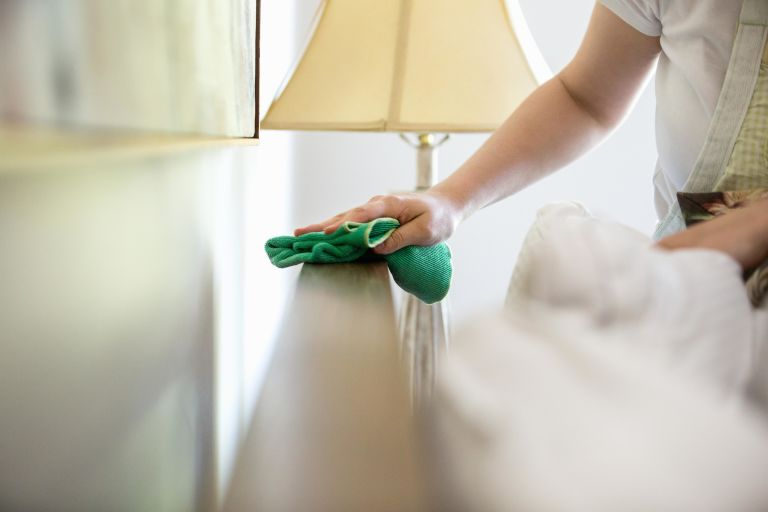 you spray dusting polish directly on wooden furniture best way to dust furniture