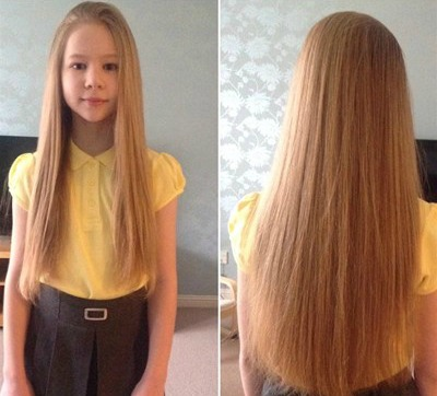 Girl Cuts Rapunzel Like Hair For A Good Cause Little