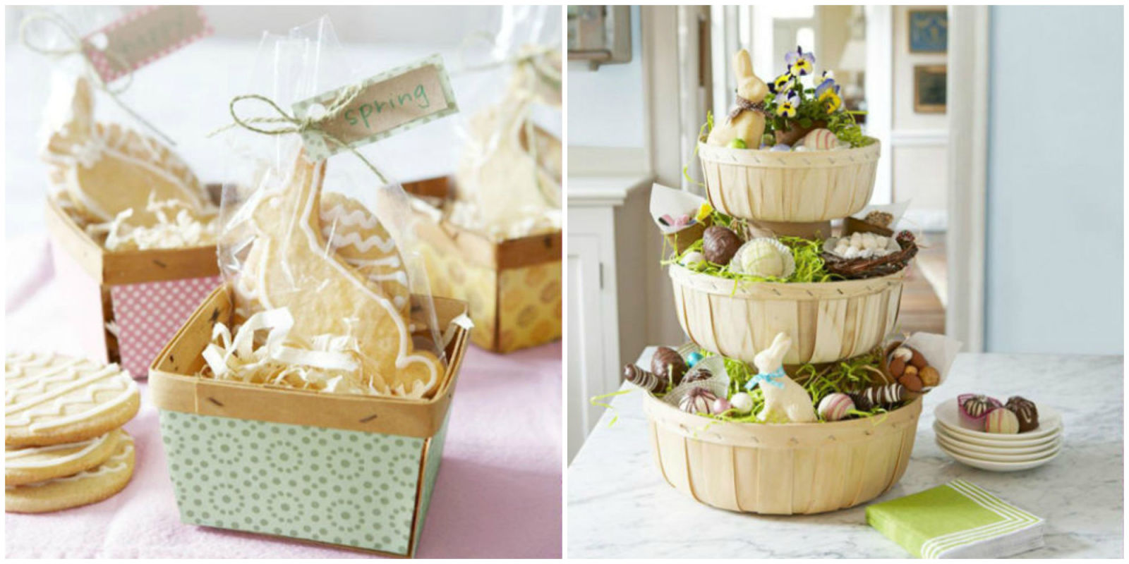 35 diy easter basket ideas unique homemade easter baskets good 35 diy easter basket ideas unique homemade easter baskets good housekeeping negle Images