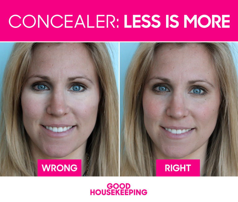 The under eye concealer trick that makes you look younger makeup the concealer mistake that makes you look older ccuart Image collections