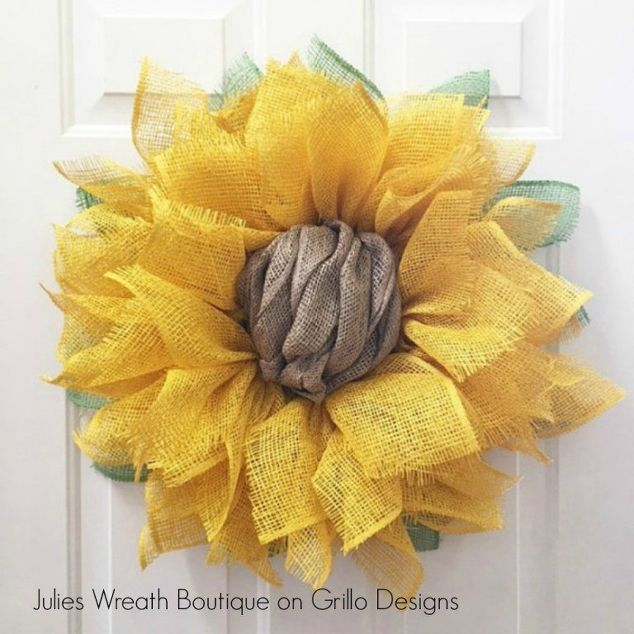 Spring Door Wreath Ideas Part - 33: Good Housekeeping